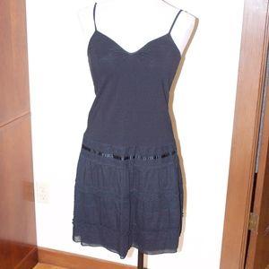 Anthropologie Pinkerton Black Lace Dress M